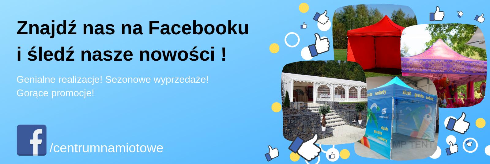 Śledź nas na facebooku !